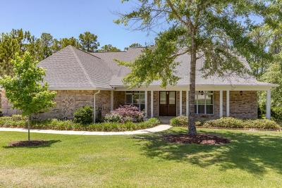 Ocean Springs Single Family Home For Sale: 10006 W Sanctuary Blvd
