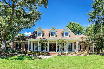 Ocean Springs Single Family Home For Sale: 5500 Sound Bluff Rd