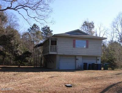 Bay St. Louis Single Family Home For Sale: 8076 Jeff Davis Dr