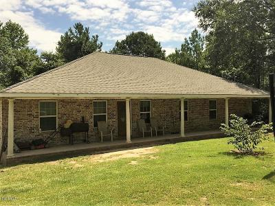 Pass Christian Single Family Home For Sale: 27554 River Rd