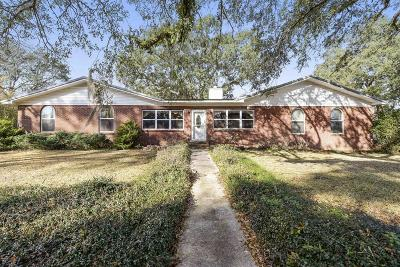Gulfport Single Family Home For Sale: 12205 Sunshine Dr