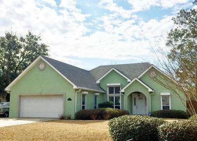 Bay St. Louis Single Family Home For Sale: 117 Oaks Blvd