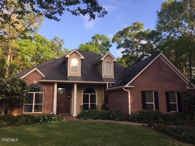 Ocean Springs Single Family Home For Sale: 306 Rue Tonti
