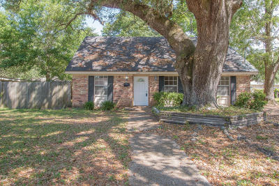 Gulfport Single Family Home For Sale: 2203 Curcor Dr