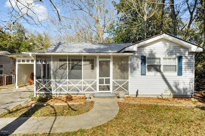 Waveland Single Family Home For Sale: 610 Nicholson Ave