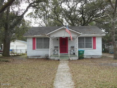 Gulfport Single Family Home For Sale: 705 Mississippi St