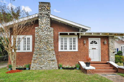Bay St. Louis Single Family Home For Sale: 313 Main St