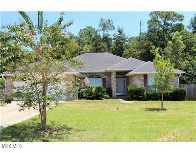 Biloxi Single Family Home For Sale: 15104 Greenwell Cir