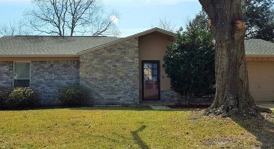 Ocean Springs Single Family Home For Sale: 6809 Oakhurst Dr