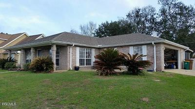 Pass Christian Single Family Home For Sale: 91 Fairway Dr