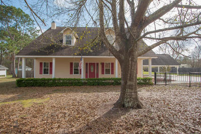 Gulfport Single Family Home For Sale: 12569 Quail Ridge Rd