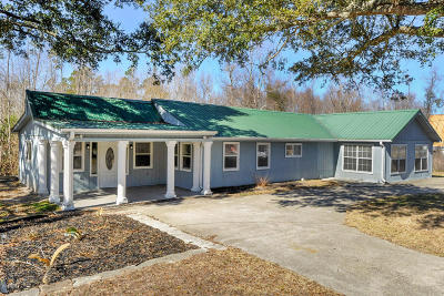 Waveland Single Family Home For Sale: 219 Vacation Ln