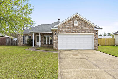 Biloxi Single Family Home For Sale: 6908 Gregory Dr