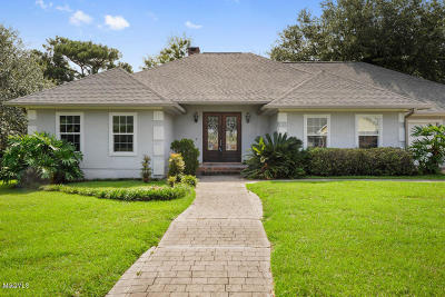 Biloxi Single Family Home For Sale: 614 Bay Haven Cv