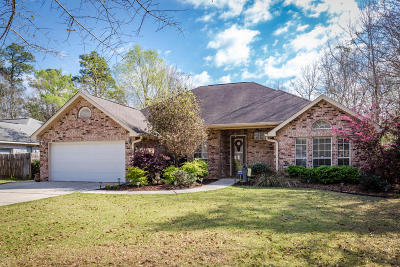 Ocean Springs Single Family Home For Sale: 6400 Poco Rd