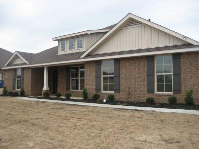 Gulfport Single Family Home For Sale: Lot 9 Brookfield Dr