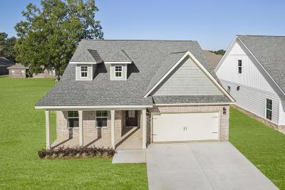 Gulfport Single Family Home For Sale: Lot 4 E Landon Green Cir