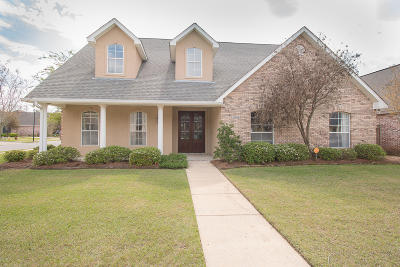 Gulfport Single Family Home For Sale: 11536 Briarstone Pl