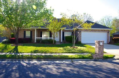 Ocean Springs Single Family Home For Sale: 3022 Trentwood Dr
