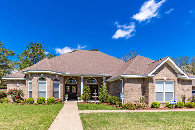 Ocean Springs Single Family Home For Sale: 2107 Whitney Oaks Dr