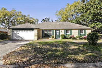 Gulfport Single Family Home For Sale: 296 Oakwood Dr