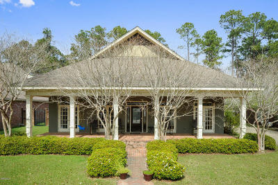 Gulfport Single Family Home For Sale: 11490 Stanton Cir