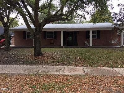 Biloxi Single Family Home For Sale: 2540 Wilson Rd