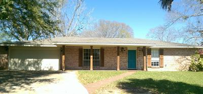 Gulfport Single Family Home For Sale: 11373 Pine Dr