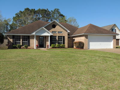 Ocean Springs Single Family Home For Sale: 5317 Algonquin Pl