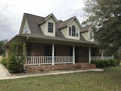 Ocean Springs Single Family Home For Sale: 13216 Jim Ramsay Rd