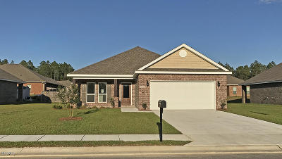 Ocean Springs Single Family Home For Sale: 1262 Lilac Cv