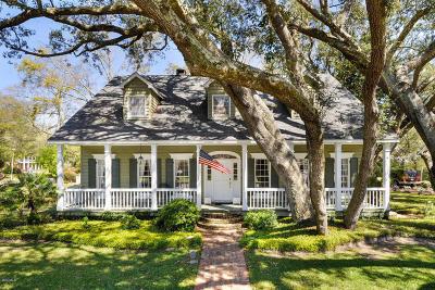 Gulfport Single Family Home For Sale: 10 Bayou Oaks Ln