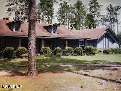 Saucier Single Family Home For Sale: 20100 Box Cv