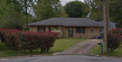 Gulfport Single Family Home For Sale: 15084 Patricia Cir