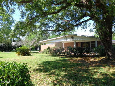 Biloxi Single Family Home For Sale: 349 Spratley Ave