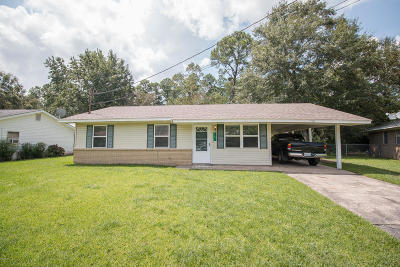 Gulfport Single Family Home For Sale: 11511 Harris Dr
