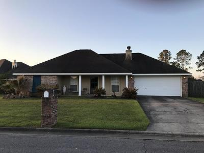 Gulfport Single Family Home For Sale: 17389 Gentry Dr