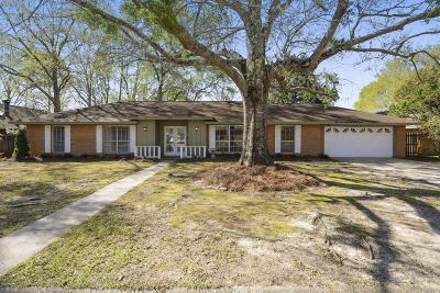 Gulfport Single Family Home For Sale: 15251 Debbie Cv