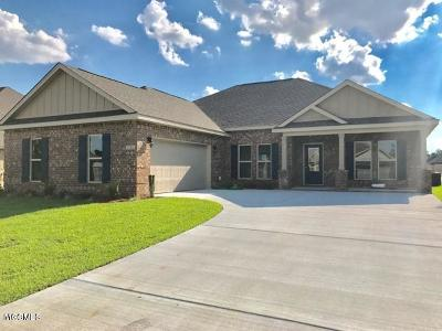 Biloxi Single Family Home For Sale: 9011 River Birch Dr