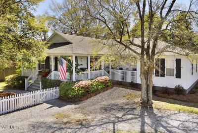 Bay St. Louis Single Family Home For Sale: 448 St John St