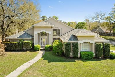 Ocean Springs Single Family Home For Sale: 3719 Bergerac Ln