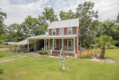 Biloxi Single Family Home For Sale: 15804 Peapatch Rd