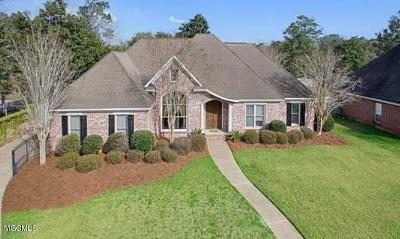 Ocean Springs Single Family Home For Sale: 3602 Perryman Rd