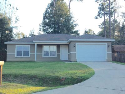 Diamondhead Single Family Home For Sale: 9512 Poni Pl