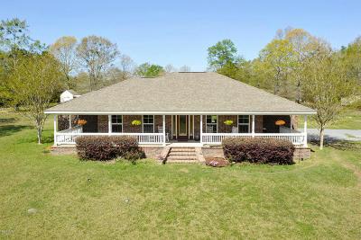 Saucier Single Family Home For Sale: 24181 Success Rd