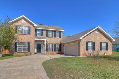 Gulfport Single Family Home For Sale: 14462 Autumn Chase
