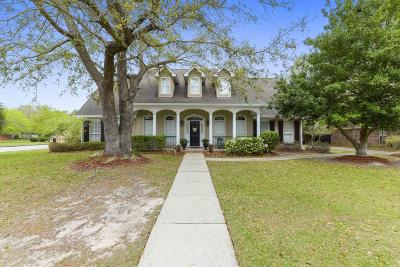 Ocean Springs Single Family Home For Sale: 301 Rue Tonti