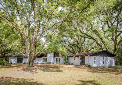 Ocean Springs Single Family Home For Sale: 9817 Pointe Aux Chenes Rd