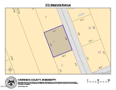 Pass Christian Residential Lots & Land For Sale: 215 Magnolia Ave
