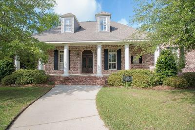 Gulfport Single Family Home For Sale: 10947 Waterside Dr